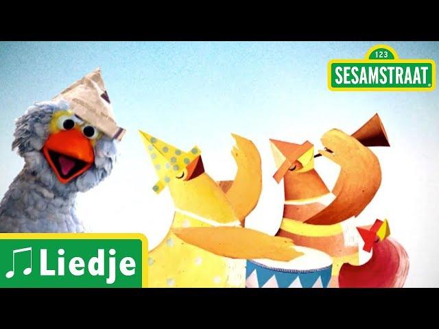 Hoedje van papier - Kinderliedje - Sesamstraat