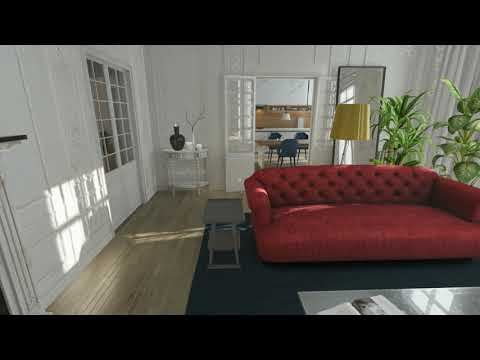 Immersive Virtual Reality based Home Experience
