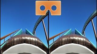 3D VR Water Roller Coaster 8 Водные Горки видео для VR очков 3D SBS