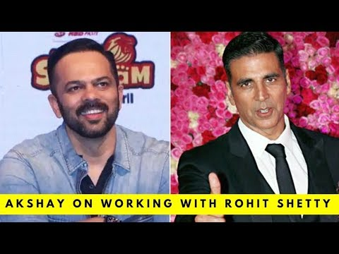 Here's what Akshay Kumar has to say on doing a film with Rohit Shetty Mp3