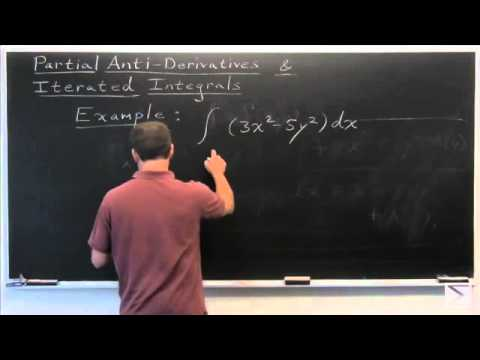 Worldwide Calculus: Partial Anti-Derivatives & Iterated Integrals