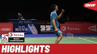 TOTAL BWF World Championships 2019 | Round of 64 MS Highlights | BWF 2019