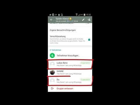WhatsApp Grundlagen: #32 Als normaler Teilnehmer oder als Administrator Gruppenchat verlassen