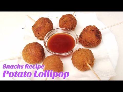 Potato Lollipap Recipe |2017 Party Starters Appetizer Dish Ideas | Easy Evening snacks Recipes