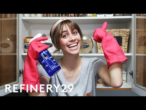 5 Days Of Spring Cleaning | Try Living With Lucie | Refinery29