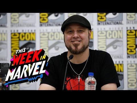 Tom Taylor's Childhood Marvel Drawings | This Week in Marvel LIVE @ SDCC 2018