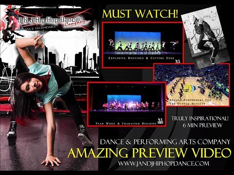J & J Hip Hop Dance Company, Hip Hop Dance Classes in