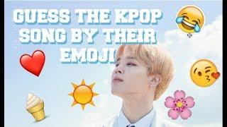 [ KPOP GAME ] GUESS THE KPOP SONG BY THEIR EMOJI - MAYA