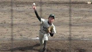 西南学院高 松隈 宏樹 投手