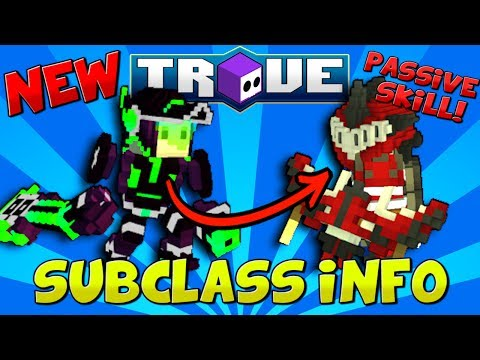 NEW TROVE SUBCLASS ABILITY REVEALED! ✪ How Will Subclass Skills Work in Trove?