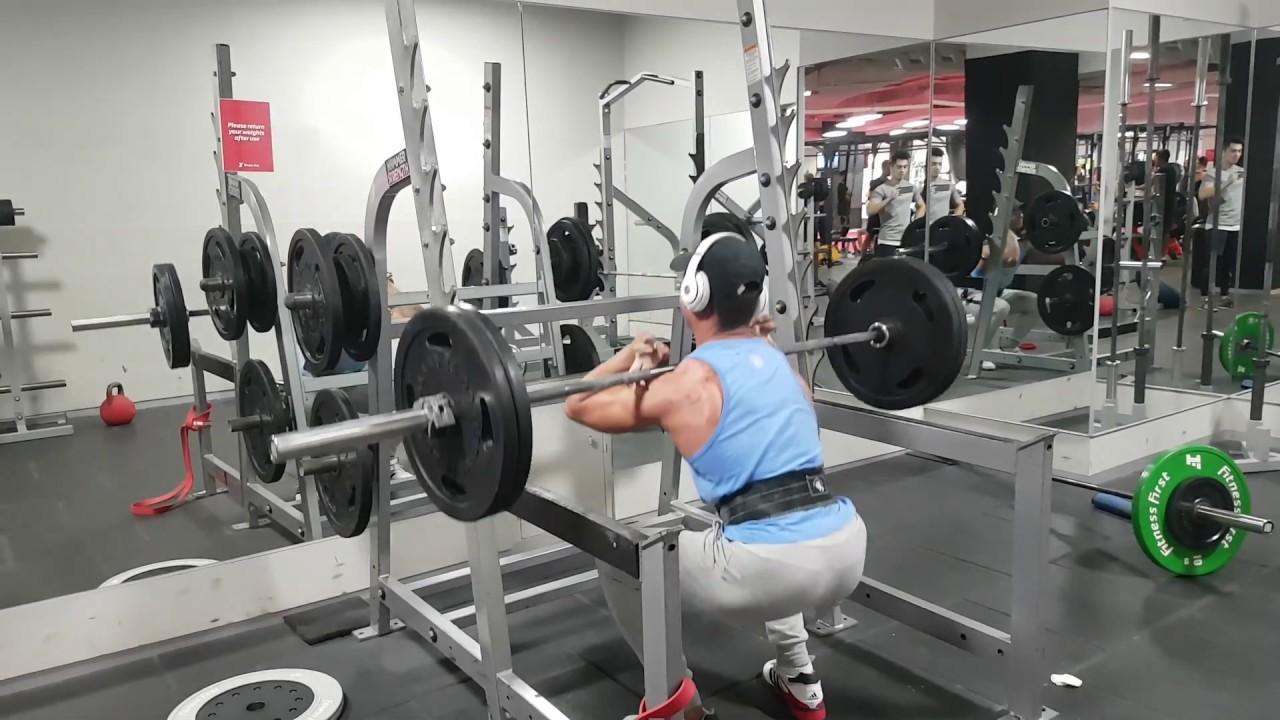 Front Squat: 100kg x 5