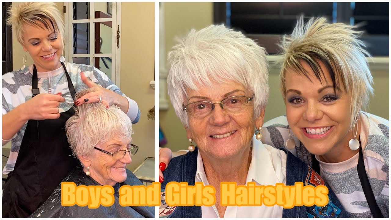 Short Hairstyles For Women Over 70 Bob Hairstyles Youtube