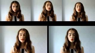 SILENT NIGHT Pentatonix cover by Julia Kushina