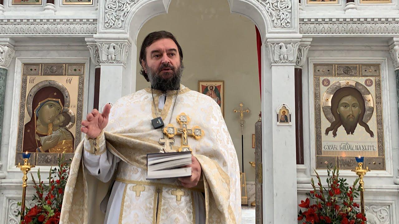 Отцы I Вселенского Собора. Протоиерей  Андрей Ткачёв.