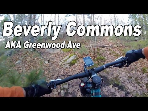 Beverly Commons Trails (AKA Greenwood Ave) in Beverly, MA