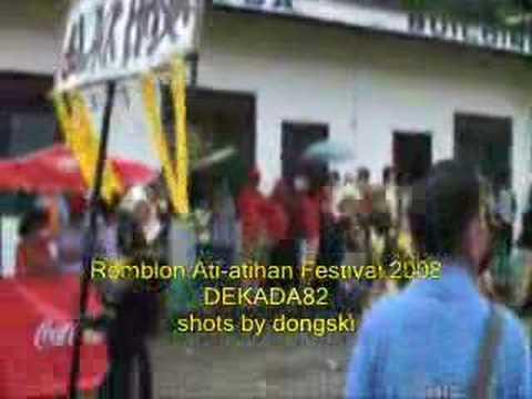 ROMBLOMANON - Romblon,Romblon Ati-atihan festival  Part 2