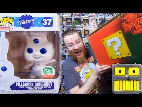 Funko Pop Epic 20 Package Haul Giant Mystery Box  of Pops