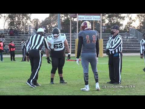 Cantwell Sacred Heart of Mary vs Pioneer Titans Football (Hlghlights) 2021