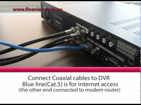 hqdefault cctv security camera system installation video youtube micromark cctv camera wiring diagram at mifinder.co