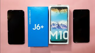 Samsung Galaxy J6+ 2018 vs Samsung Galaxy M10 2019