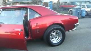 1967 Firebird 4 Speed, Ridiculously built 350! Great Burnout!