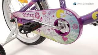 детский велосипед Novatrack 16 Little Girlz обзор
