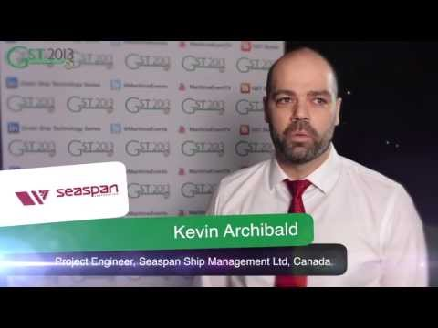 Interview with Kevin Archibald, Seaspan Ship Management - GST 2013