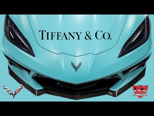 Corvette C8 Tiffany & Co Vinyl Wrap Thousand Oaks
