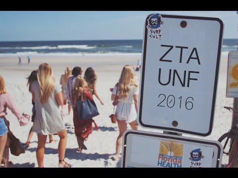 Zeta Tau Alpha at the University of North Florida 2016