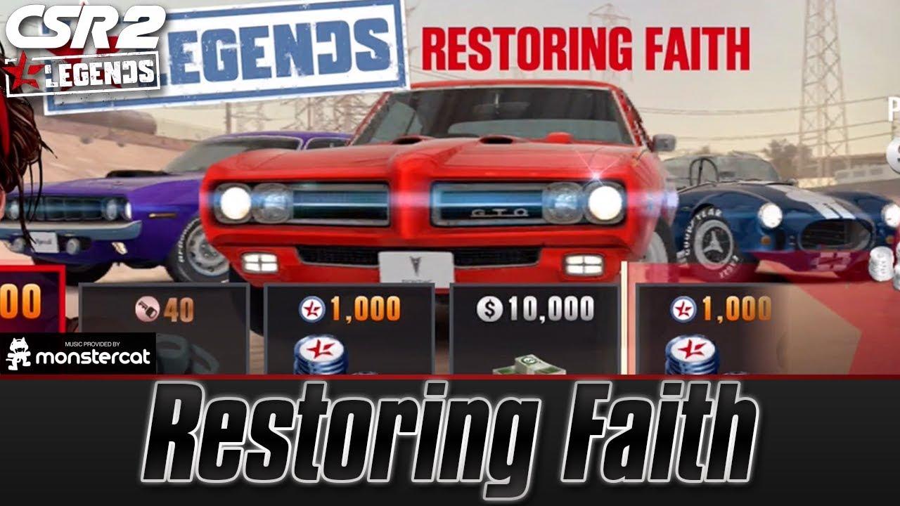 CSR Racing 2: CSR 2 Legends | Restoring Faith | Restoring The Countach &  The Hemi Cuda