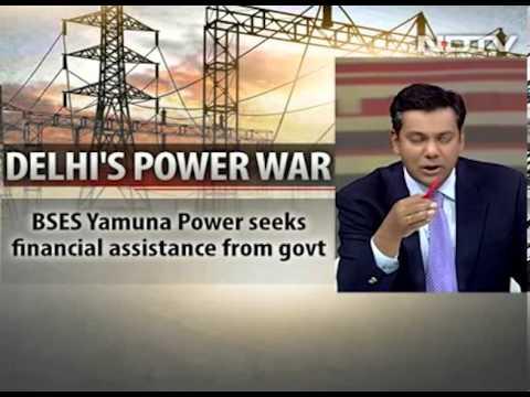 NDTV live program where Harry Dhaul was being interviewed by Vishnu Som.