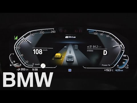 How to use the New Assisted Driving View in your BMW – BMW How-To