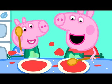 Peppa Pig Official Channel | Peppa Pig Makes Pizza!