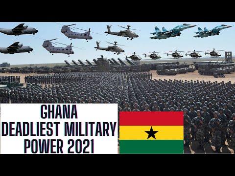 GHANA Deadliest Military Power 2021 | ARMED FORCES | Air Force | Army | Navy