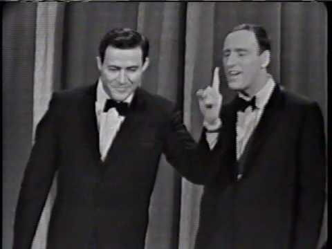 Rowan and Martin on Ed Sullivan 1960