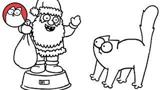 Christmas Presence (Part 1 & 2!) - Simon's Cat | SHORTS