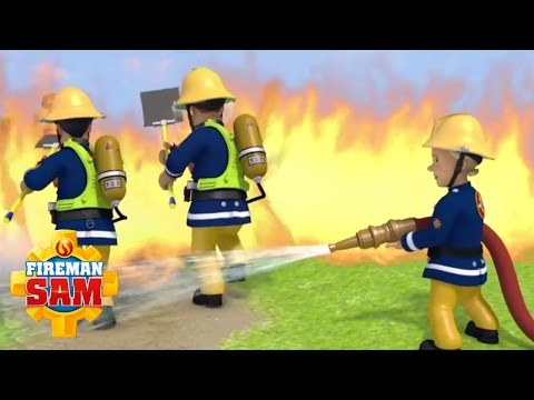 🚒 🔥 Fireman Sam  - Fireman Sam puts out the Fire - Best Rescues!  🚒 🔥