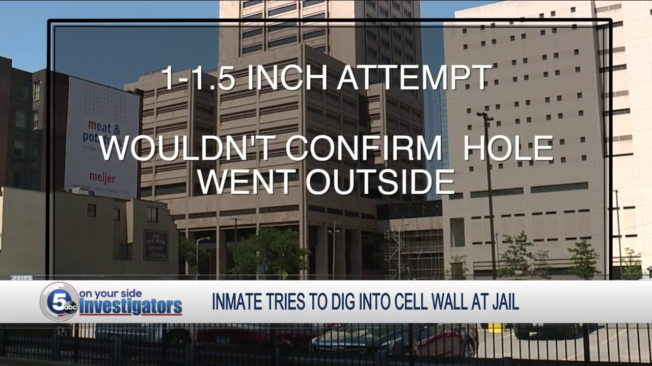 Inmate caught in 'attempt to make contact with the outside'