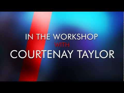 In the Workshop with Courtenay Taylor (A Koobismo Interview)