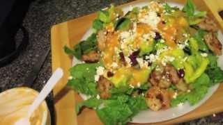 Let's Cook-cajun Buffalo Shrimp Salad