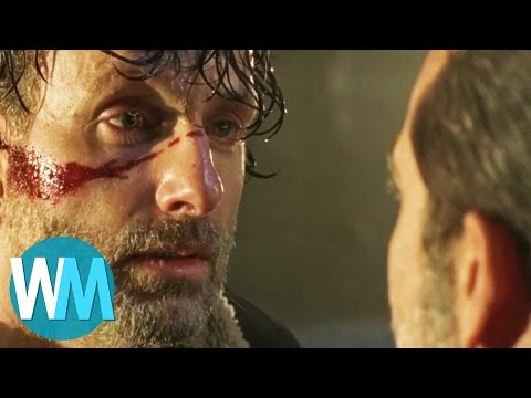 Top 10 Most Shocking Walking Dead Deaths