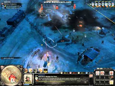 Company of Heroes 2, Schildkroteberg All Waves on General Difficulty