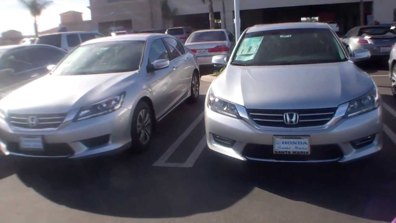 2013 honda accord ex vs sport or comparison youtube. Black Bedroom Furniture Sets. Home Design Ideas