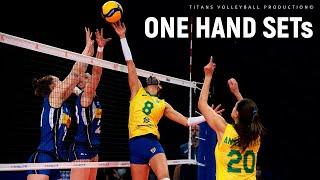 ONE HAND Volleyball SETs by Macris Carneiro | Women's VNL 2021