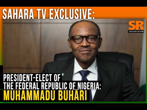 SaharaTV Exclusive With President-Elect Muhammadu Buhari