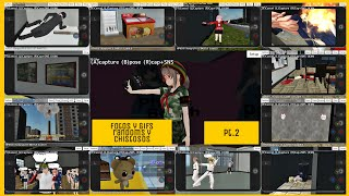[School Girl Simulator] Funny & Randoms Phottos & Gifs Compilation #2 📷