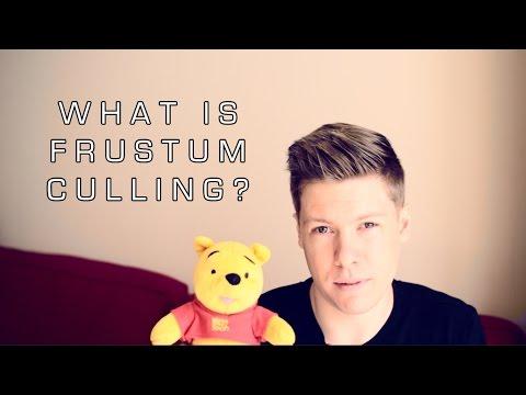 What is Frustum Culling?