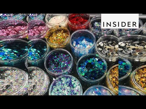 This glitter brand brings out your free spirit