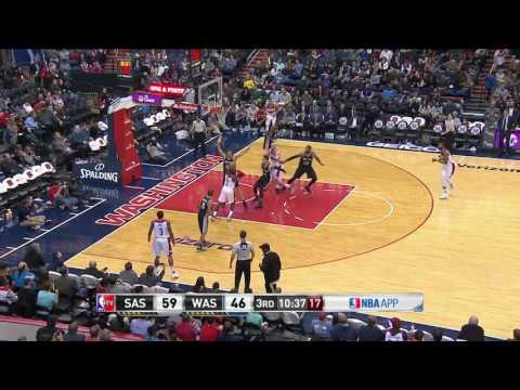 San Antonio Spurs vs Washington Wizards | November 26, 2016 | NBA 2016-17 Season