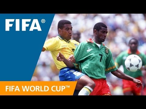 World Cup Highlights: Cameroon - Brazil, USA 1994